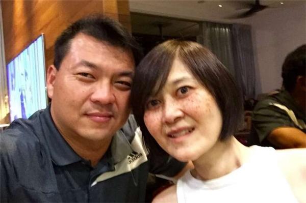 Vợ chồng cô Chia và chú Ong.