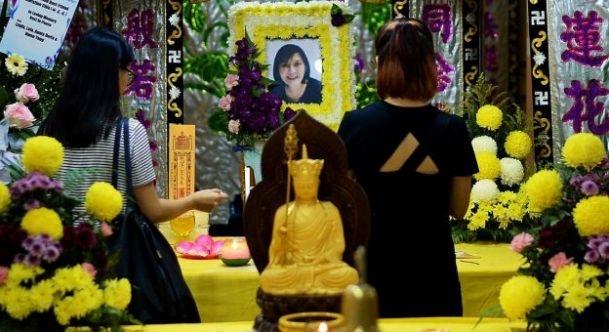 Cô Chia đã qua đời vào ngày 18/10/2016, sau 9 năm sống với quả thận của chồng.