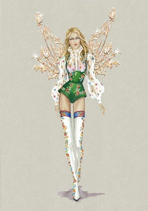 Thiết kế mang hơi hướng cổ điển được lấy ý tưởng từ những nàng công chúa bước ra từ chuyện cổ tích.