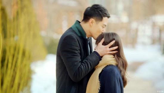 Đây là nụ hôn mang tính bảo vệ và cưng chiều nhất trong số 4 nụ hôn.