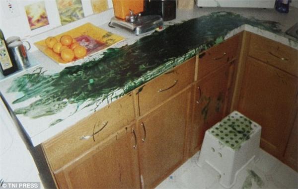 Nhà bếp sạch đẹp bạn vừa dọn khi sáng giờ lại thành ra thế này. (Ảnh: Internet)