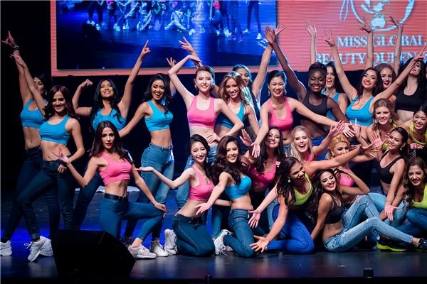 Một vài phần trình diễn trong đêm chung kết Miss Global Beauty Queen 2016.