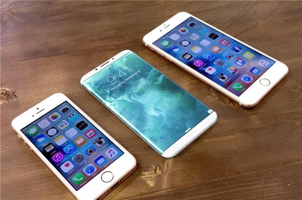 Thiết kế iPhone 8 hoàn toàn khác biệt so với những dòng iPhone trước đó. (Ảnh: internet)