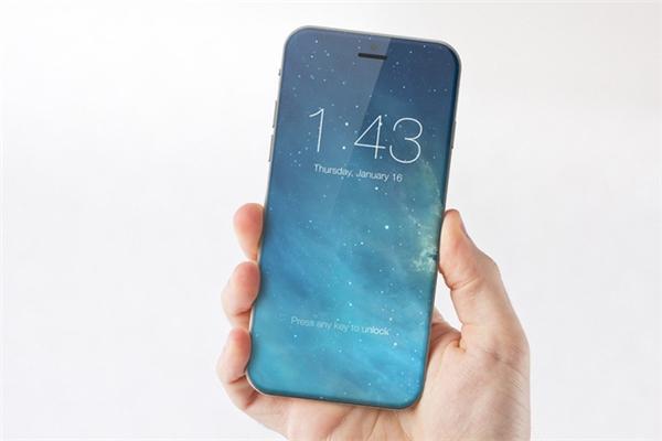 iPhone 8 được bao bọc hoàn toàn bằng kính cường lực nguyên khối. (Ảnh: internet)