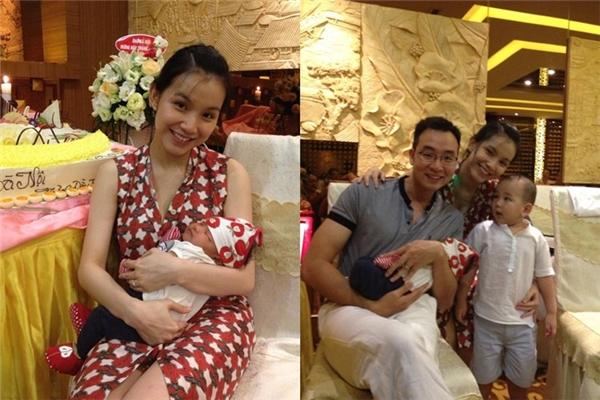 Khoảnh khắc hạnh phúc và giản dị giữa đời thường của vợ chồng Hoa hậu Hoàn vũ Việt Nam 2008. - Tin sao Viet - Tin tuc sao Viet - Scandal sao Viet - Tin tuc cua Sao - Tin cua Sao