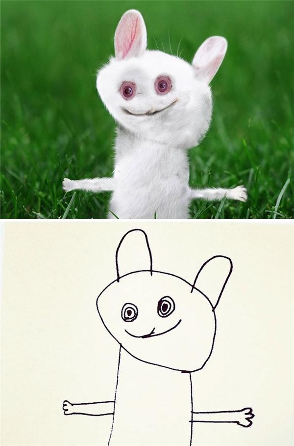 Thỏ ngốc thì mãi là thỏ ngốc, có sao vẽ vậy thôi.