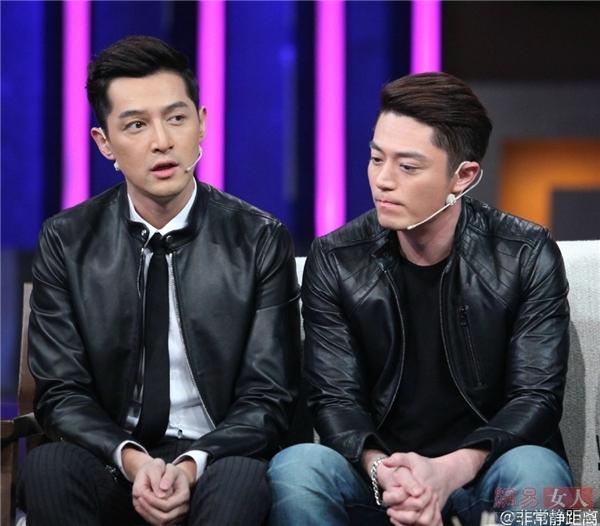 Cặp đôi Hồ Ca và Hoắc Kiến Hoalà cặp sao nam đáng yêu được người người ghép đôi nhất Hoa ngữ.