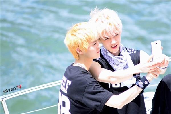 """HunHan - cặp đôi """"thần thánh"""" của Kpop."""