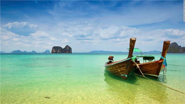 #8 Đảo Trang, Thái Lan (Ảnh: CNN)