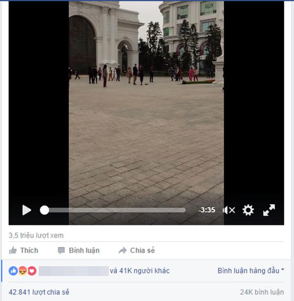 Đoạn clip thu hút được rất nhiều sự chú ý từ dân mạng. (Ảnh: Chụp màn hình)