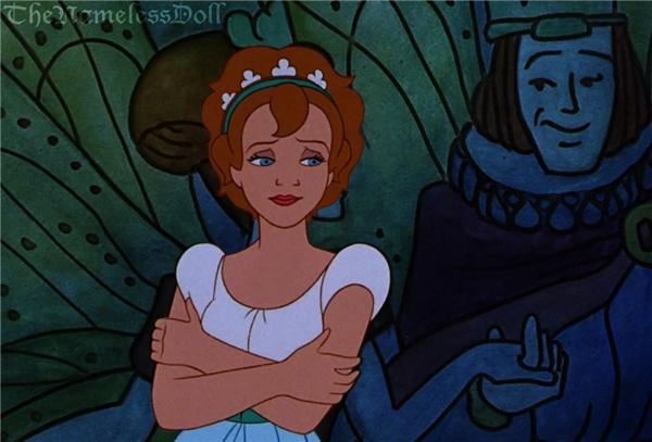 Cô bé Thumbelina vẫn hiền thục khi đổi kiểu tóc.(Ảnh: The Nameless Doll)