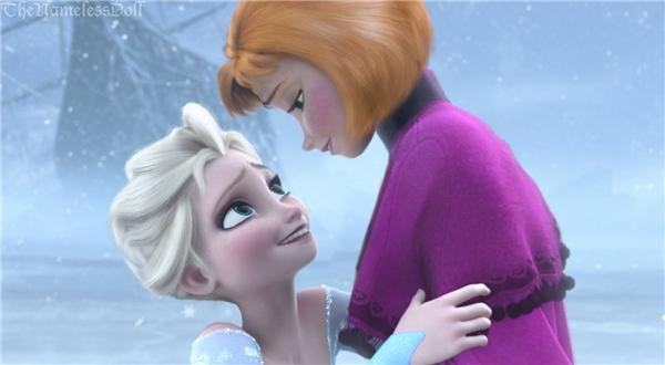 """Chị em nhàElsa và Annathì """"chất nhất quả đất"""" rồi!(Ảnh: The Nameless Doll)"""