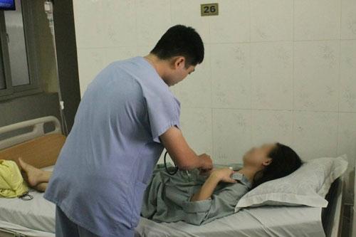 Sau hai tuần điều trị,bệnh nhân đã hồi phục hoàn toàn, sức khỏe ổn định.