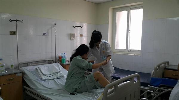 Vào ngày26/10 bệnh nhân Nguyễn Thị P đã được xuất viện.