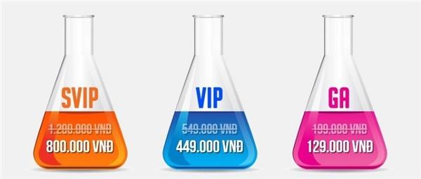 Với mỗi vé SVIP, bạn sẽ được tặng ngay: 1 phần nước + combo thức ăn + lightstick + vòng tay ánh sáng. Còn vé VIP thì sẽ được nhận ngay: 1 phần nước + vòng tay ánh sáng. - Tin sao Viet - Tin tuc sao Viet - Scandal sao Viet - Tin tuc cua Sao - Tin cua Sao