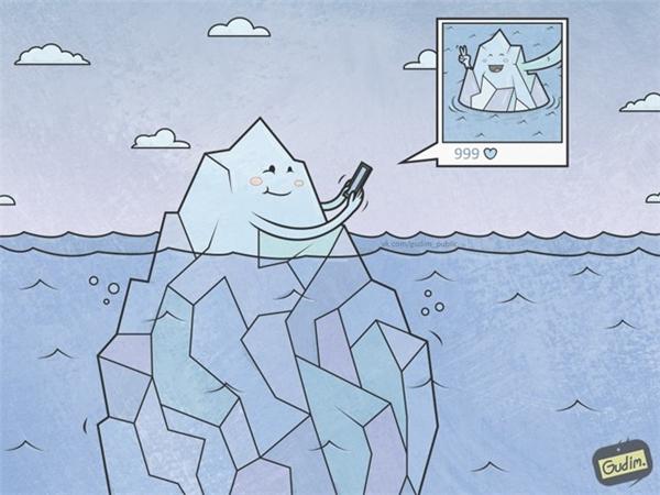 Những thứ gì bạn trông thấy trên mạng chỉ là một phần nhỏ của sự thật mà thôi.