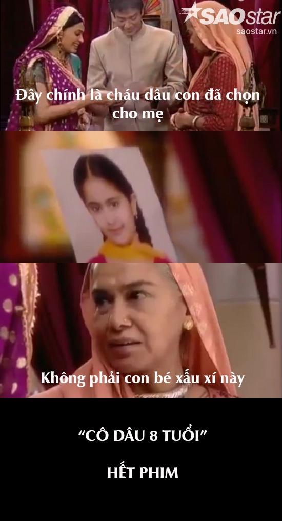 Mấy ngàn tập Cô dâu 8 tuổi sẽ kết thúc nhanh chóng nếu ngay từ đầu bà nội không chọn Anandi làm cháu dâu. Sau đây, mời các bạn đón xem bộ phim…Cô dâu 9 tuổi.