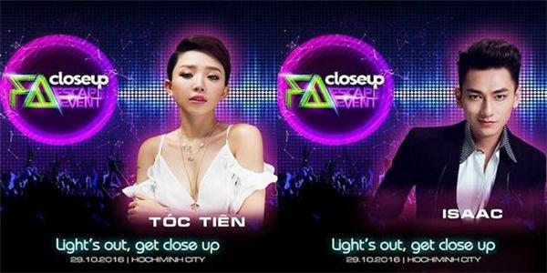 Cùng tham gia ngày hội âm nhạc lớn nhất, Closeup FA Escape với Tóc Tiên và Isaac. - Tin sao Viet - Tin tuc sao Viet - Scandal sao Viet - Tin tuc cua Sao - Tin cua Sao