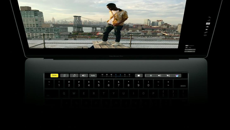 Chết mê với MacBook Pro 2016 vừa mới ra mắt có dải Touchbar ảo diệu
