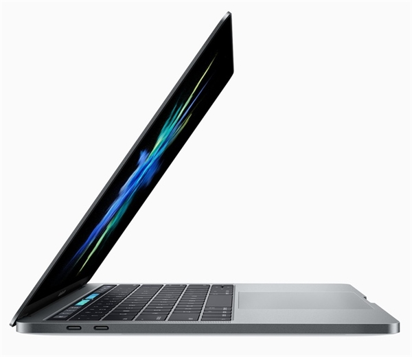 Màn hình retina trên MacBook Pro 2016sáng hơn trước 67 %, tỷ lệ tương phản cũng tăng 67 % và thêm 25 % màu sắc, nhưng vẫn tiết kiệm pin hơn thế hệ trước. (Ảnh: internet)