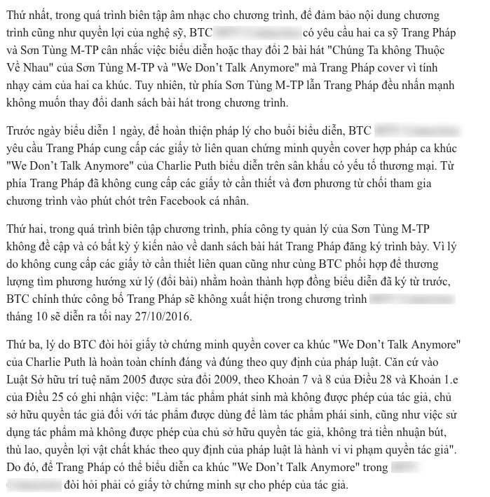 . Trích đăng toàn bộ thông tin từ phía BTC gửi cho các đơn vị báo chí - truyền thông. - Tin sao Viet - Tin tuc sao Viet - Scandal sao Viet - Tin tuc cua Sao - Tin cua Sao