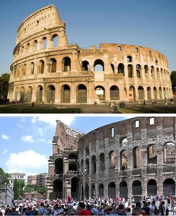 Không lúc nào Đấu trường La Mã được một phút nghỉ ngơi. (Ảnh: 9GAG)