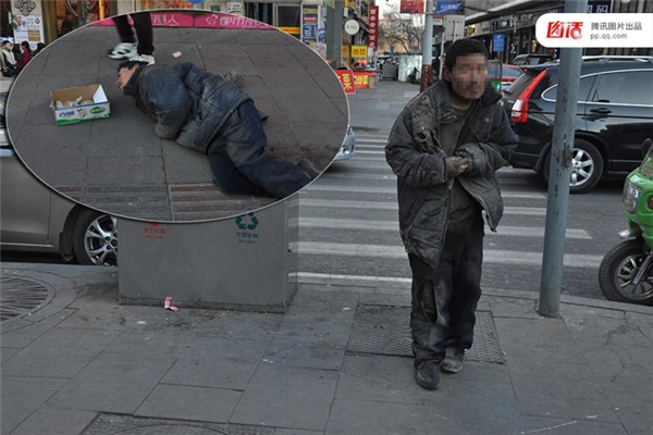 Ngày 13/01/2016 tại Thái Nguyên, Sơn Tây, người đàn ông này lăn lê bò toài trên phố vì bị tàn tật. Khi một phóng viên lật tẩy được chiêu trò này và thuyết phục ông đứng dậy cho mình xem, ông ta đã đứng dậy thật và bước đi rất khỏe khoắn.