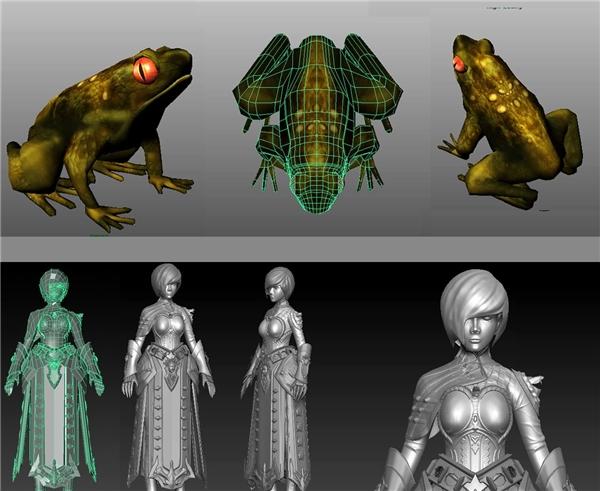 Tác phẩm tạo hình 3D của cô nàng sinh viên Ái Trân.