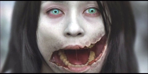 Gương mặt gớm ghiếc của Khẩu liệt nữ.(Ảnh: Internet)