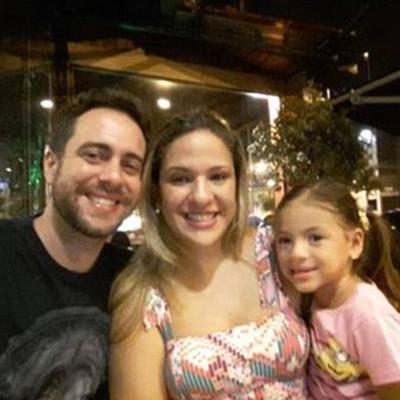 Diogo Bolant, Nicole de Souza và cô con gái riêng củ vợ, Isadore.
