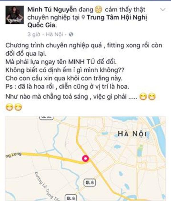 Chia sẻ của Minh Tú