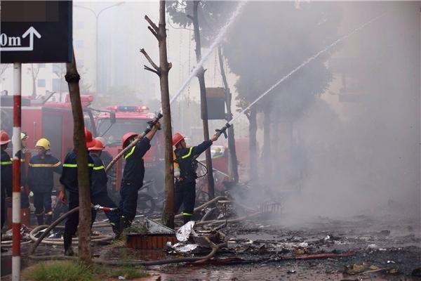 Quán karaoke bị cháy ở Trần Thái Tông không có giấy phép hoạt động