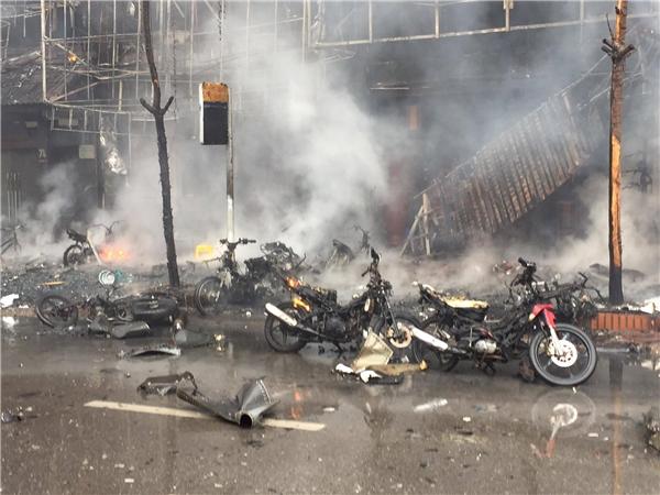 Khởi tố vụ cháy nghiêm trọng quán karaoke ở Trần Thái Tông