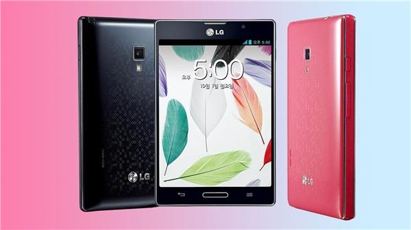 Nguyên bản LG Optimus Vu 2. (Ảnh: youtube)