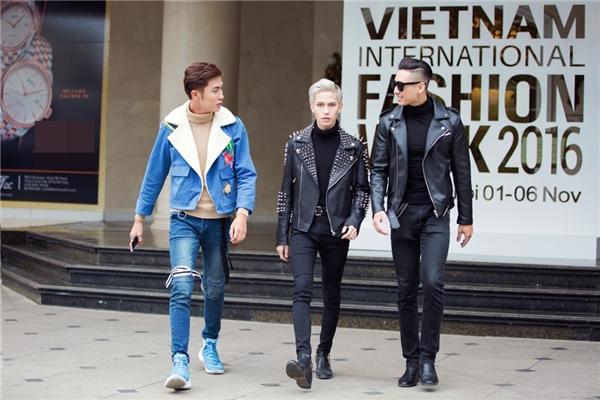 Street style cực ngầu của giới trẻ Hà thành ngày đầu VIFW 2016