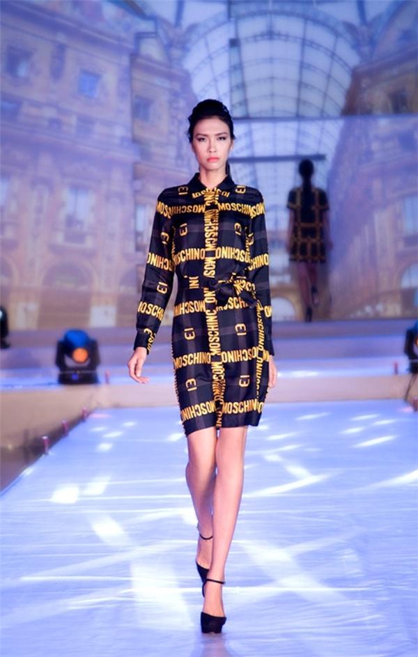 Nguyễn Oanh, Quán quân Vietnam's Next Top Model 2014 cao 1m83 và có đôi chân lên đến 1m16.