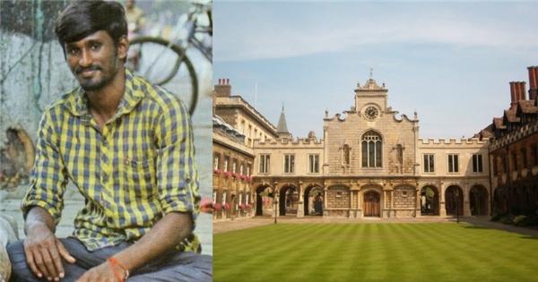 Chàng trai ăn xin ngày nào giờ đây đã trở thành sinh viên một trong những đại học danh tiếng nhất thế giới.