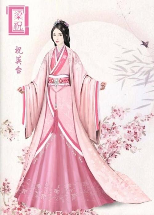 Tạo hình Tiểu Xán vai Chúc Anh Đài qua tranh vẽ mà đạo diễn Trần Bằng đăng tải.