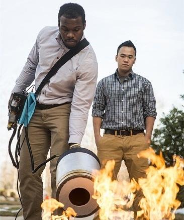 Dập lửa bằng sóng âm thanh - tại sao không? (Ảnh: Internet)