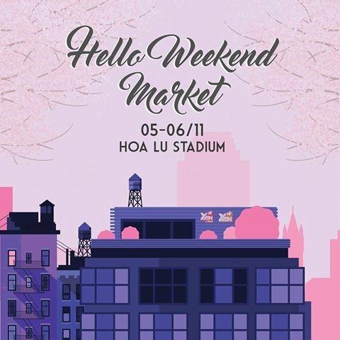 Tuyệt chiêu sắm đồ ngày se lạnh cùng Hello Weekend Market