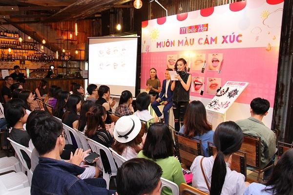 Event thu hút sự tham gia của rất đông các bạn trẻ đến tham dự.
