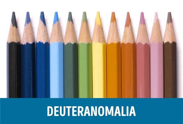 Deuteranomalia là tật rối loạn sắc giác phổ biến nhất, với khoảng 4,63% nam giới mắc phải và có khả năng di truyền, thậm chí nhiều trường hợp người ta không biết mình mắc tật này. Người bị Deuteranomalia nhìn thấy màu sắc bị mờ hơn so với bình thường, đặc biệt màu xanh lục và đỏ.
