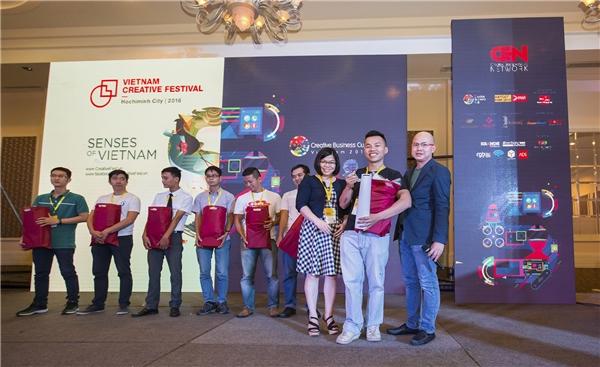 DesignBold giành giảiQuán quân cuộc thi Creative Business Cup Vietnam 2016. (Ảnh: internet)