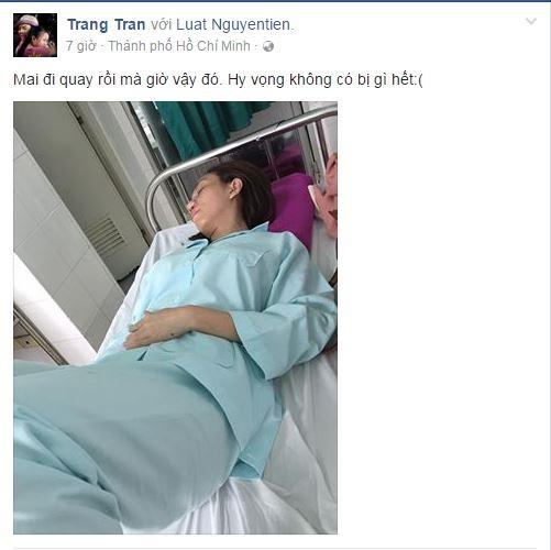 """""""Hoa hậu hài"""" cũng cảm thấy bất an trước tình trạng sức khỏe hiện tại. - Tin sao Viet - Tin tuc sao Viet - Scandal sao Viet - Tin tuc cua Sao - Tin cua Sao"""