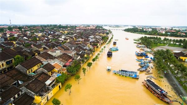 Lũ lụt ở Hội An.