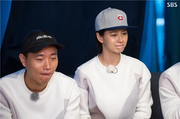Gương mặt buồn bã thấy rõ của Song Ji Hyo