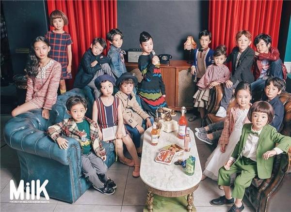 SM Kids Model với đầy đủ 15 thành viên nhí.