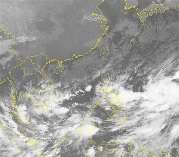 Dự báo do áp thấp di chuyển theo hướng Tây Tây Bắc. (Ảnh:nchmf.gov.vn)