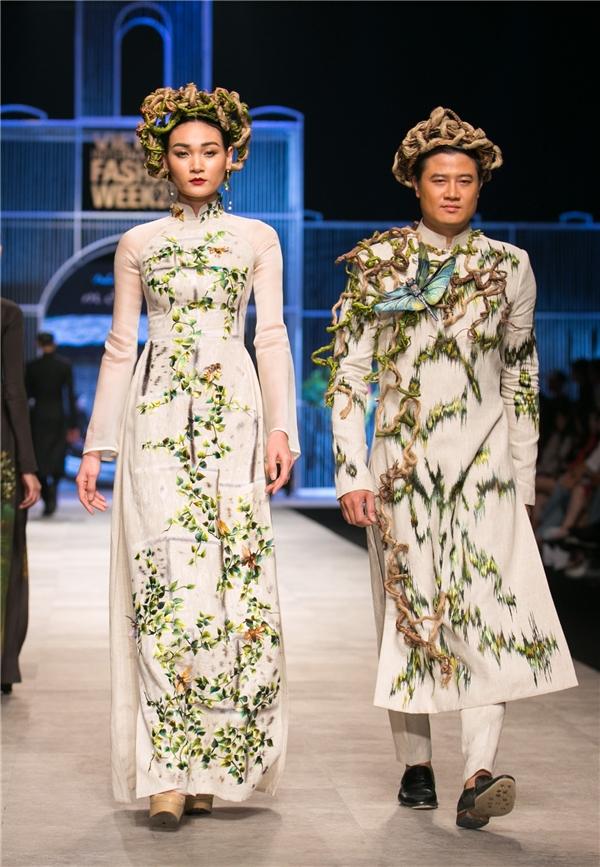 Á hậu Trương Thị May đội vương miện nặng 10kg làm vedette tại VIFW