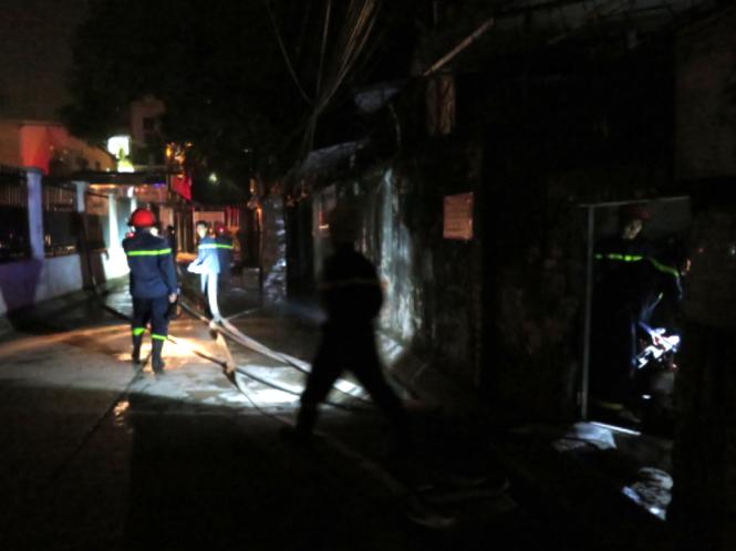 Hà Nội: Cháy lớn tại chùa Tĩnh Lâu – Tây Hồ ngay trong đêm